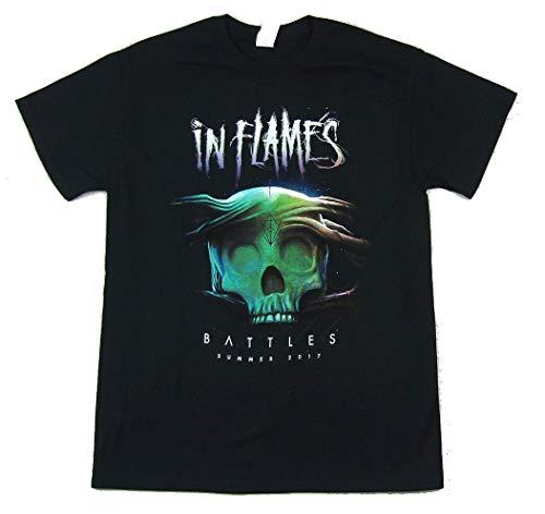 In Flames Battle Summer Tour 2017 Black T Shirt (L)
