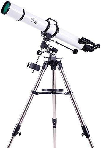 ROM Binoculares para Adultos, telescopio práctico, telescopio práctico de carácter astronómico con trípode, práctica portátil (para Exteriores)