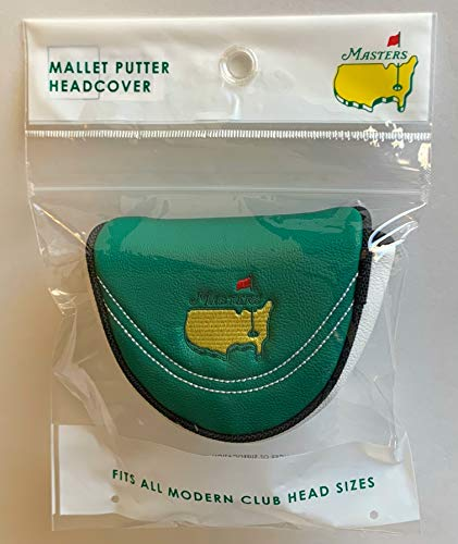 Masters golf Mallet putter cover 2021 masters augusta national pga new