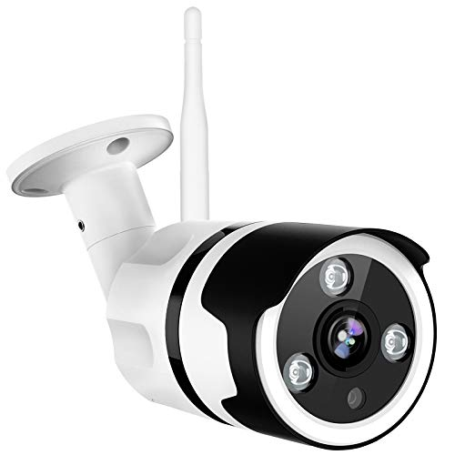 Outdoor Security Camera, Netvue 1080P Wifi Bullet Surveillance Camera Two-Way Audio, IP66 Waterproof, FHD Night Vision, Motion Detection, Home Security Camera Activity Alert, Cloud Storage, SD Card