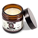 Urban Nomads Best Beard Balm & Wax, Strong Hold, Leave in Conditioner & Styling Balm for All Beard...