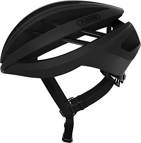 ABUS Aventor Road Bicycle Helmet (Black - M)