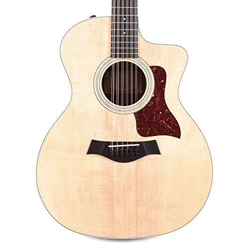 Taylor 254ce 12-String Grand Auditorium Sitka/Rosewood Natural ES2 w/Gig Bag