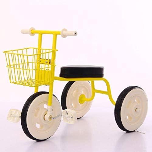 Rosa day Kinder Dreirad Geeignet Für 1-2-3 Jahre Alten M lichen Und Weißichen Baby fürrad Kinderwagen Kind 66  47CM (Farbe   C )