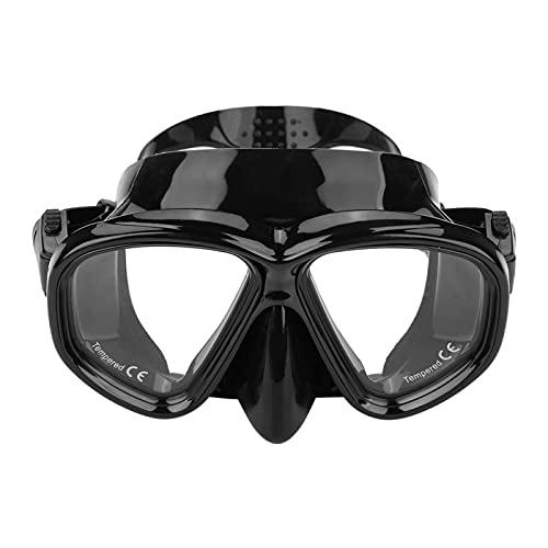 Surebuy Máscara De Buceo, Máscara De Buceo Antivaho Tubo Seco Separado por Aire Diseño Ergonómico Máscara De Esnórquel Antifugas para Esnórquel
