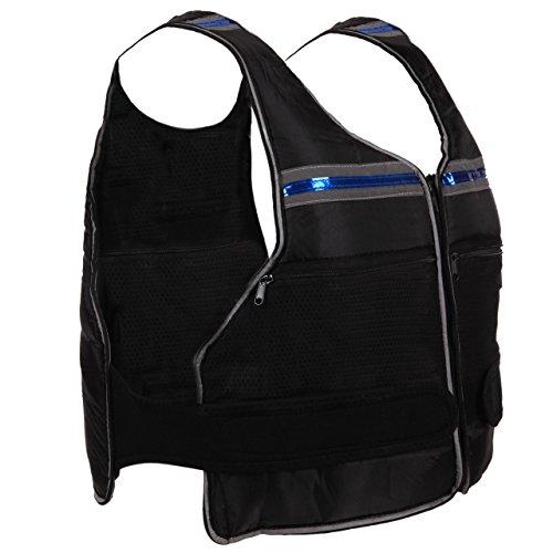 ScSPORTS - Giacca con Pesi, 10 kg con 20 Tasche