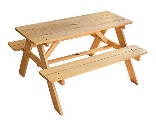 FUN HOUSE Table Pique-Nique en Bois pour Enfant