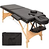 TecTake Table de massage 2 zones pliante...