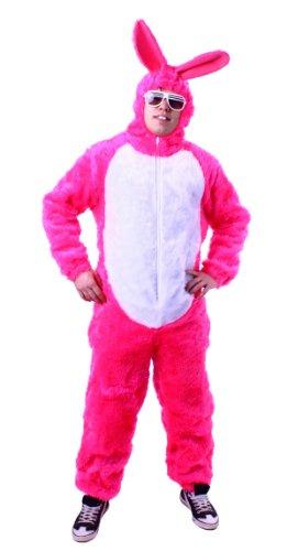 Hasenkostüm pink Hasen Kostüm Overall Gr. L