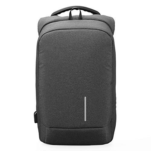 Herentas 13''15 '' USB-lader rugzakken anti-diefstal rugzak laptoptas mannen vrouwen mode reistas nylon 15.6in B