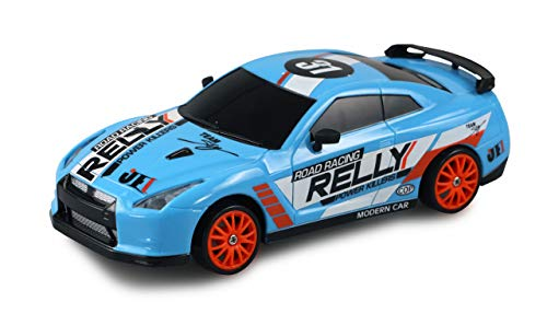 Amewi 21084 Drift Sport Car M 1:24 blau, 4WD 2,4 GHz Fernsteuerung