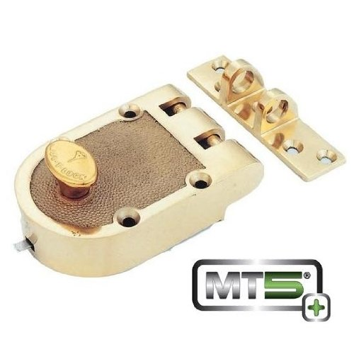 Mul-t-lock MT5+ Single Cylinder Jimmy Proof with Rim Cylinder - Bright...