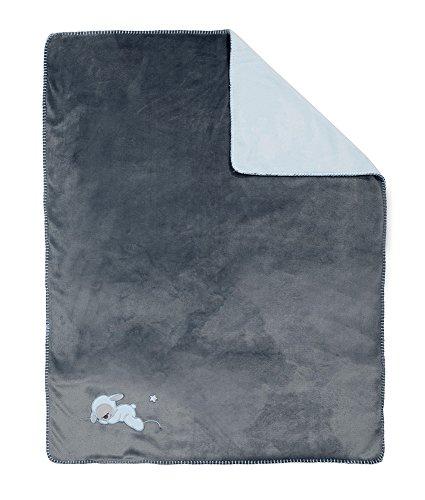 NATTOU 604512 Couverture Tricotée Bleu 75 X 100 Cm