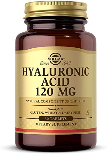 Solgar, Hyaluronic Acid, 120 Milligram, 30 Tablets
