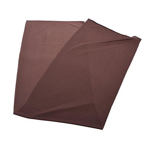 Denash 1.7mx 0.5m Altoparlante Mesh Cloth Grill Cloth, Cover Protettiva in Tessuto di Stoffa Stereo Audio, Cover Antipolvere per diffusore(Marrone)