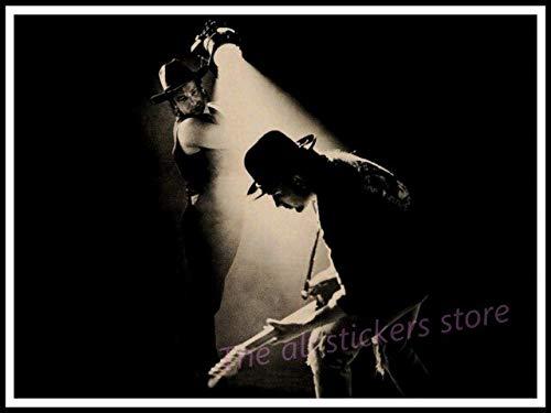 Cuadro En Lienzo Póster,Póster De U2, Decoración De Muebles para El Hogar De Irlanda, Póster Gratis, Póster De Música Acid Rock, Dibujo, Núcleo, Pared De Coche,50X70Cm Sin Marco,Ph-382