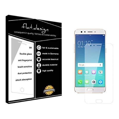 1x Bildschirm Schutz für Oppo F3 Plus Screen Bildschirmschutz Schutzfolie kristallklar Flexible Folie, robust wie Glas. Qualität, Nachhaltigkeit und Fairness Made in Germany