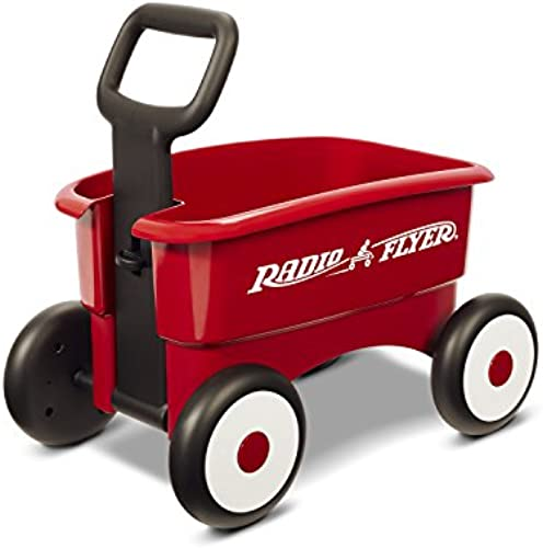 Radio Flyer My 1st 2-in-1 Wagon Ride On, rot