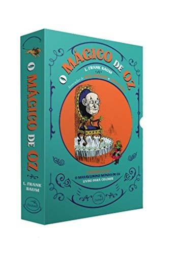 Box - O Mágico De Oz - 3 Volumes - Acompanha 1 Pôster
