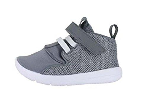 Nike Nike Jordan, Baby Jungen Lauflernschuhe grau Grey/White, grau - Grey/White - Größe: 17