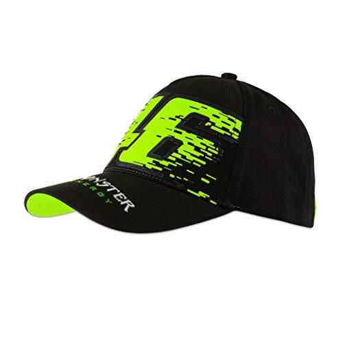 Valentino Rossi Monster Dual Chapeau Cap, Hut, CAPCMD1, Blanc, Einheitsgröße, Weiß