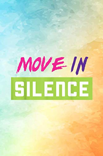 Move in silence made to match Jordan 5 Retro Bel-Air Self Care Acts Planner | 6 x 9 inches size and 114 pages