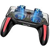 SPLLEADER 5000mAh Mobile Game Controller, Mobile Gaming Grip Mobile Gamepad mit 4.7 bis 6.5 Zoll Smartphone für L1R1 Shooter-Controller PUBG