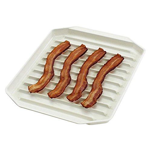"Nordicware Freeze Heat & Serve Bacon Rack 9-3/4"" X 8"""