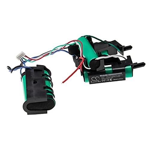 vhbw Batería recargable compatible con Electrolux ZB3211, ZB3212, ZB3213, ZB3214G aspiradora, robot limpieza (2500 mAh, 18 V, Li-Ion)