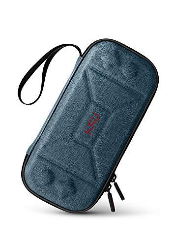 HSU Estuche portátil para el Lanzamiento del Nuevo Nintendo Switch Lite 2019 - Caja de Transporte Protector con Almacenamiento para conmutador Lite Juegos y Accesorios [Azul]