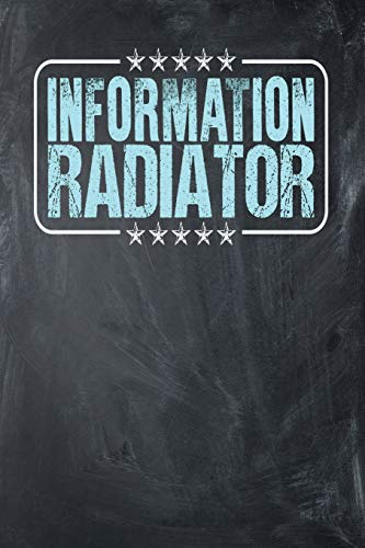 Information Radiator: Chalkboard, Light Blue Design, Blank College Ruled Line Paper Journal Notebook for Project Managers and Their Families. (Agile ... Book: Journal Diary For Writing and Notes)