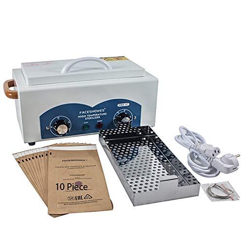 XFEOMBQ hoge-temperatuur desinfectie kabinet, 300 W kracht, hoge temperatuur desinfectie kabinet voor kapper schoonheid nagels en handdoeken tot 220 °C