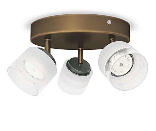 Philips 533330616 Fremont Luminaire d'Intérieur Spot LED Métal Bronze 4 W