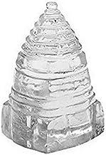 Finaldeals Sphatik Shri Yantra Pyramid Crystal Pyramid Shree Yantra Sphatic Shree Yantra - 58 gm