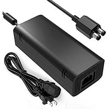 Xbox 360 Slim Power Supply YCCSKY AC Adapter Power Supply Brick Charger with Cable for Xbox 360 Slim