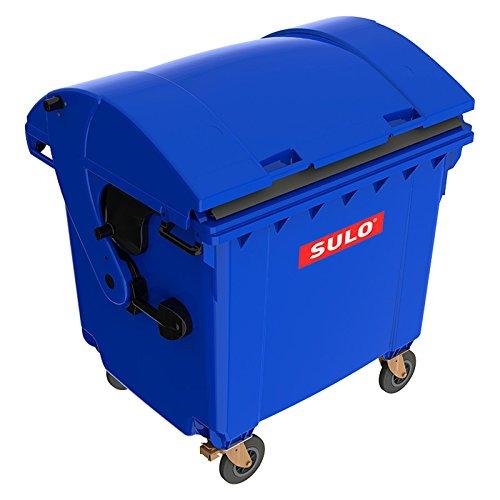 Sulo Müllcontainer 1100 Liter Original MGB BLAU mit Runddeckel Mülltonne