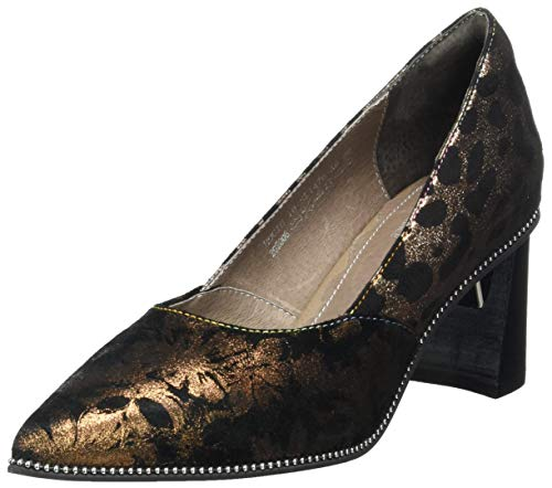 LAURA VITA Damen Pumps, Bronze, 39 EU