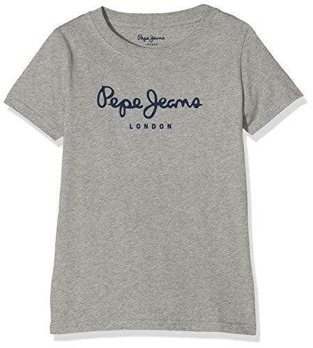 Pepe Jeans Jungen Art T-Shirt, Grau (Grey Marl 933), 4-5 Jahre