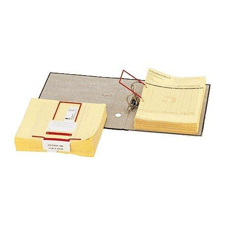 Elba 100580278 - Caja de 100 encuadernadores de plástico, color azul