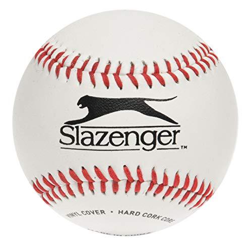 slazenger unisex baseball softball white