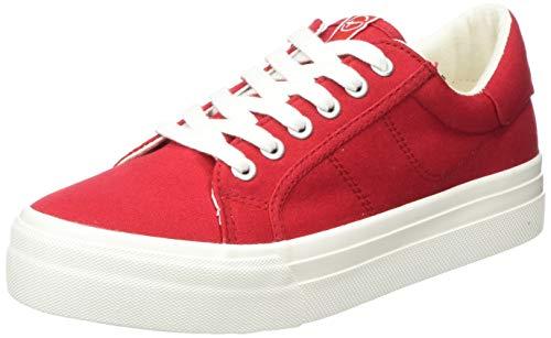 Tamaris Damen 1-1-23602-24 Sneaker, Rot (Lipstick 515), 40 EU