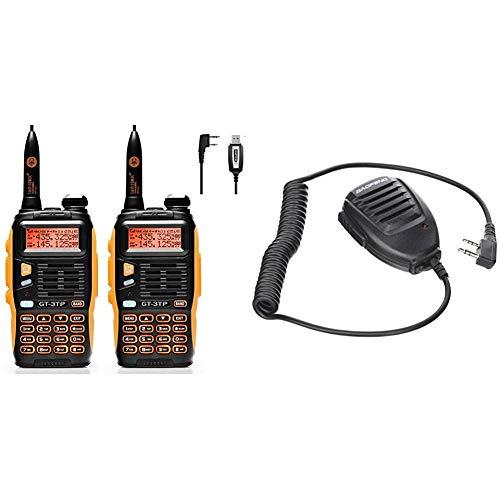Baofeng - GT-3TP - Walkie Talkie, Radio Emisor-Receptor - Color: Naranja/Negro