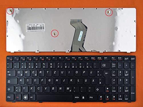 DE Schwarz Tastatur Keyboard mit schwarz Rahmen Ver.2 IBM Lenovo Ideapad B580
