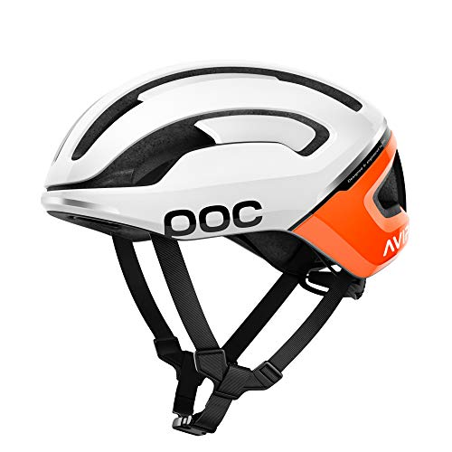 POC Omne Air Spin, Helmet Unisex – Adulto, Zink Orange Avip, M / 54-59 cm