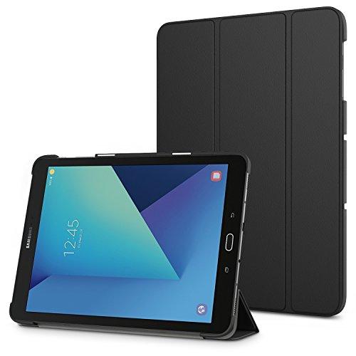 MoKo Galaxy Tab S3 9.7 Funda - Ultra Slim Lightweight Función de Soporte Protectora Plegable Smart Cover Durable (Auto Sueño/Estela) - Negro