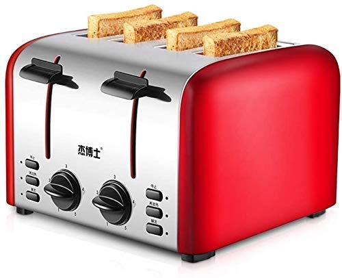Broodmachine, ontbijt Soil Driver Toast Huis 4 Slices, Broodrooster, ZHW345
