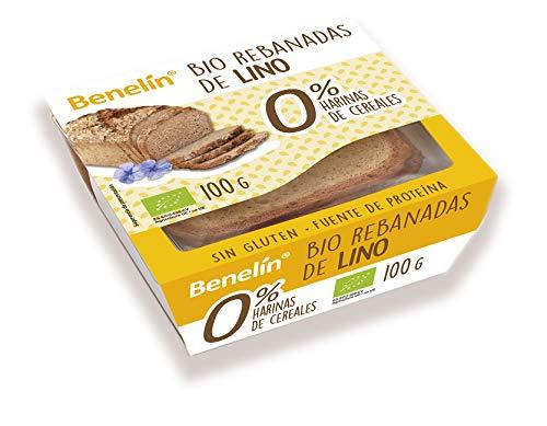 BENELIN BIO Rebanadas de lino 100 grs (6 Rebanadas)
