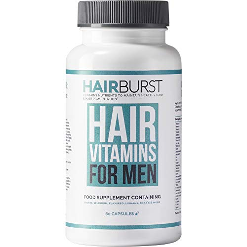 Hairburst Hair Vitamins for Men - Helps to Prevents Hair Loss - Mens Multivitamins Containing 30 Vitamins and Minerals Including Biotin