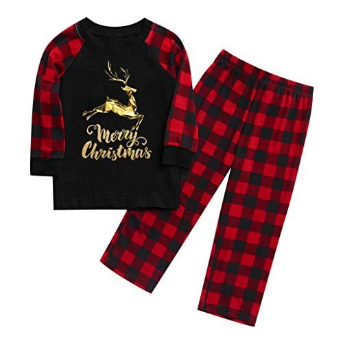 Weihnachtsmänner Papa drucken Weihnachten Homewear Schlafanzug- Familie...