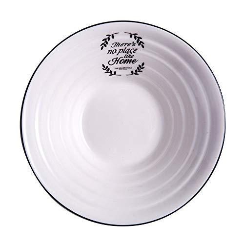 Bowl WUBING Keramik-Hut Salad Große Suppenschüssel Nudel-Schüssel Haushalt Fruchtsalatschüssel Rindfleisch Ramen-Schüssel Instant-Nudel-Schüssel Große Schüssel Schüssel-8.23 (Color : Home)